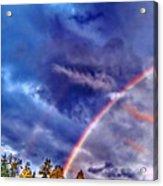 Rainbow And Scalar Waves IIi Acrylic Print