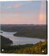 Rainbow At Broken Bow Lake Acrylic Print