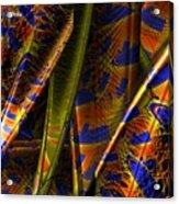 Rainbow Baleen Stack Acrylic Print