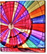 Rainbow Balloon Acrylic Print