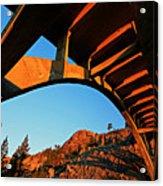 Rainbow Bridge Sunrise Acrylic Print
