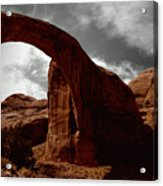 Rainbow Bridge Utah Acrylic Print