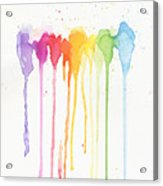 Rainbow Color Acrylic Print