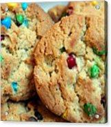 Rainbow Cookies Acrylic Print