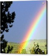 Rainbow Covenant Acrylic Print