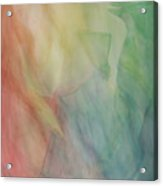 Rainbow Dancer Acrylic Print