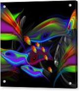 Rainbow Deep Acrylic Print