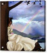 Rainbow Dreamer Acrylic Print by Robert Foster