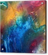 Rainbow Dreams II By Madart Acrylic Print