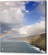 Rainbow From The Sea Acrylic Print