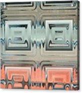 Rainbow Glass2 Acrylic Print