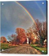 Rainbow Hdr Acrylic Print