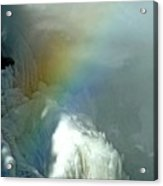 Rainbow Ice Water Acrylic Print
