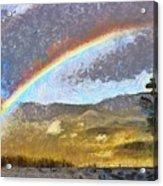 Rainbow - Id 16217-152046-6654 Acrylic Print