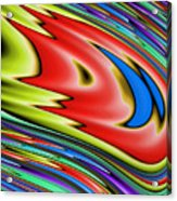 Rainbow In Abstract 04 Acrylic Print