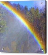 Rainbow In The Mist Acrylic Print