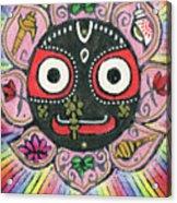 Rainbow Jagannath Acrylic Print
