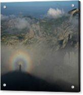Rainbow-man Acrylic Print
