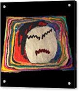 Rainbow Moon Acrylic Print