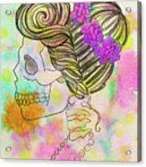 Rainbow Mrs. Acrylic Print