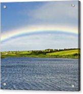Rainbow Near Ballyvaughan Acrylic Print