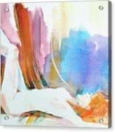 Rainbow Nude Acrylic Print