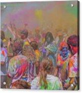 Rainbow Of Colors Acrylic Print