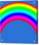 Rainbow On Sky Acrylic Print