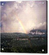 Rainbow Over Gunks Acrylic Print