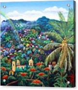 Rainbow Over Matagalpa Acrylic Print