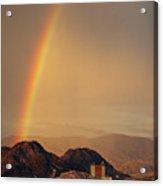 Rainbow Over Nevada Acrylic Print