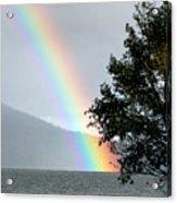 Rainbow Over Odell Acrylic Print