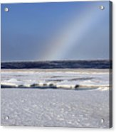 Rainbow Over The Arctic Acrylic Print