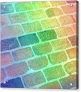 Rainbow Reflection  Acrylic Print