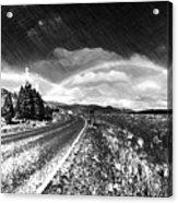 Rainbow Road - Id 16217-152021-8918 Acrylic Print