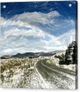 Rainbow Road - Id 16217-152040-7206 Acrylic Print