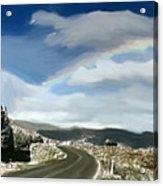Rainbow Road - Id 16217-152042-9570 Acrylic Print