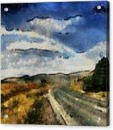 Rainbow Road - Id 16217-152106-4712 Acrylic Print