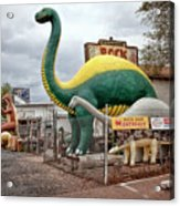 Rainbow Rock Shop Dino Acrylic Print