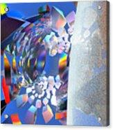 Rainbow Roller Coaster Ride By Jammer Acrylic Print