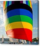 Rainbow Sail Acrylic Print