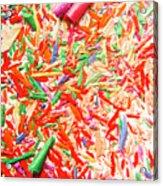 Rainbow Shatters  Acrylic Print
