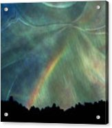 Rainbow Showers Acrylic Print