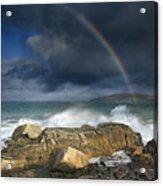 Rainbow To Heaven Shamrock Shores  Acrylic Print