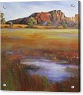 Rainbow Valley  Australia Acrylic Print
