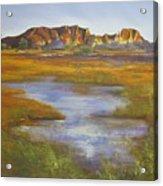 Rainbow Valley Northern Territory Australia Acrylic Print