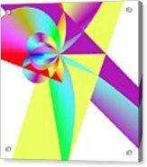 Rainbow Wedding Gift Acrylic Print