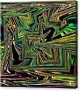 Rainbow World On A Clear Day Acrylic Print