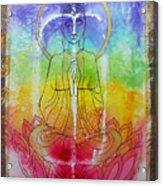 Rainbowbuddha Acrylic Print