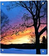 Rainbowed Sunrise Acrylic Print